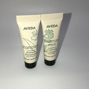 AVEDA Shampure shampoo & Rosemary Mint conditioner